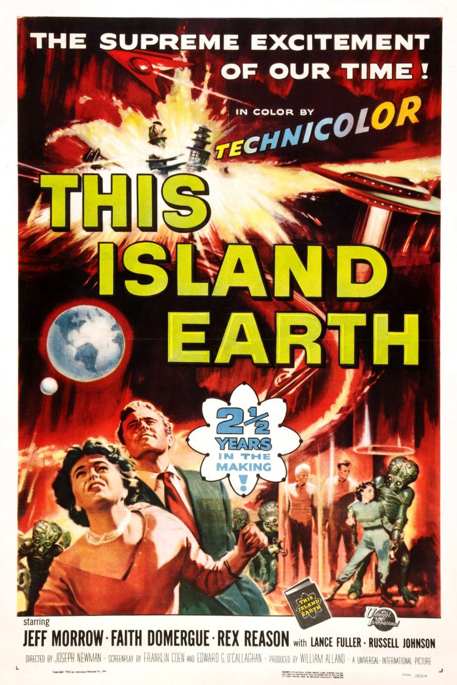 Poster for This Island Earth