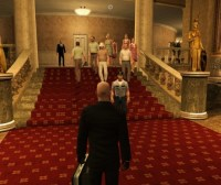 Half of Hitman is going from point A to point B without being seen.