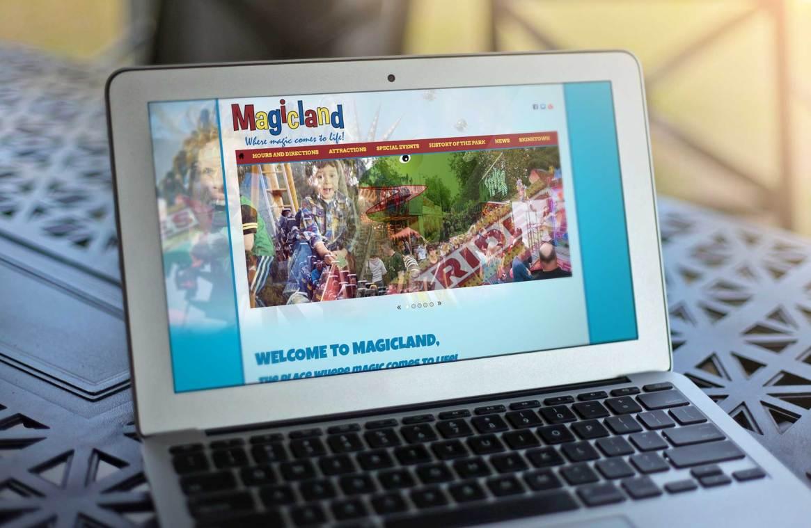 Magicland website w