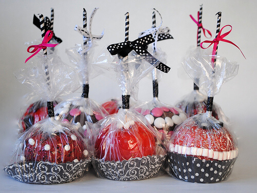 Candy Apples Wedding Favors