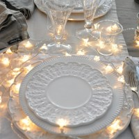 Lighted Wedding Table Decorations