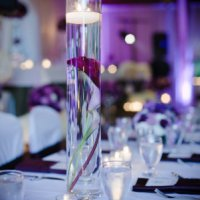 Wedding Centerpieces - Tall Cylinder Vase