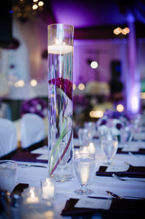 Wedding Centerpieces - Tall Cyliner Vase