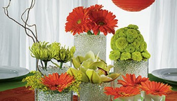 Glass bubbles wedding centerpieces wedding decorating ideas junglespirit Image collections