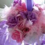 Wedding Pomander Bouquet – Alternative to Bridal Bouquet