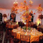 Branches Centerpieces for Fall Wedding