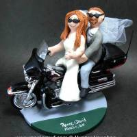 A Harley Theme Wedding