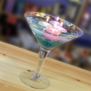 Martini Glass Wedding Centerpieces
