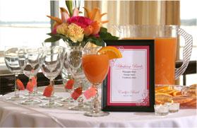 Signature Cocktails at Wedding Reception