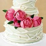 Spring Wedding Cake – Peony