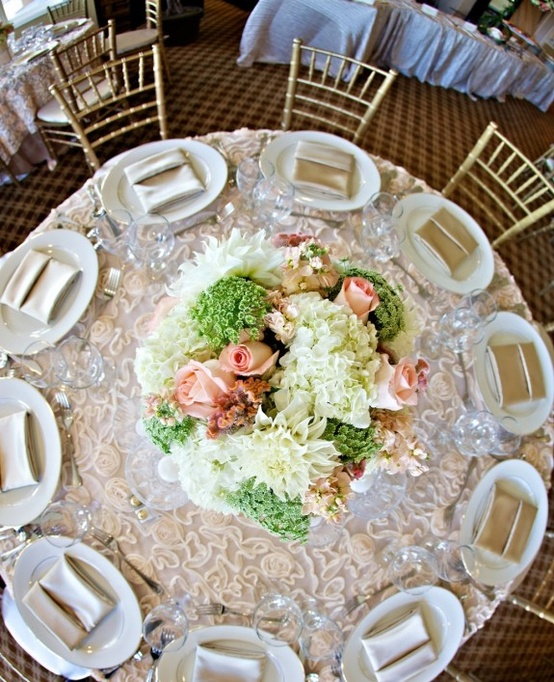 Wedding Reception Tables - Ivory
