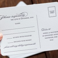 Using Post Cards as Response Cards