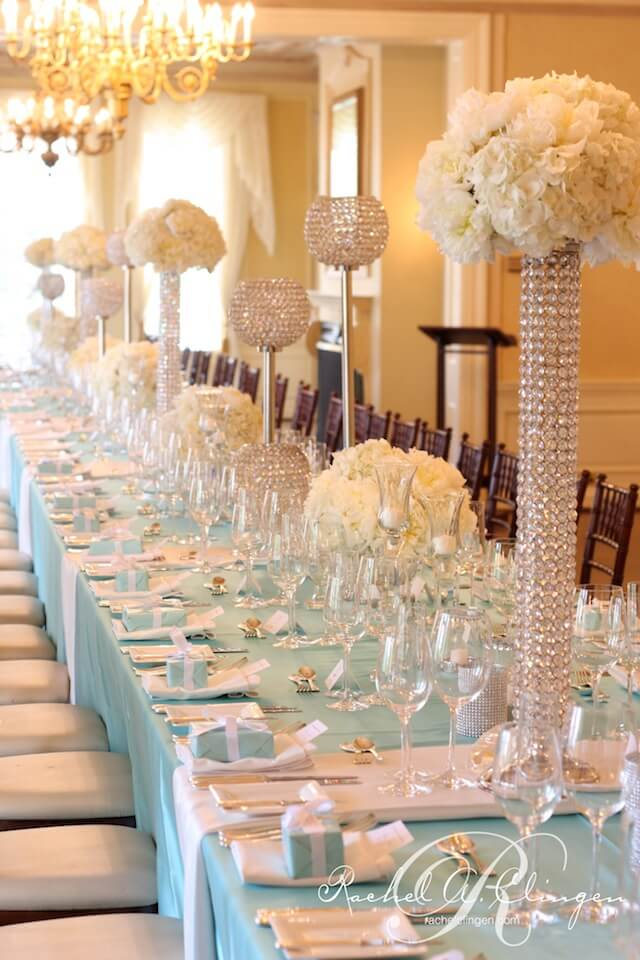 Wedding Crystals Table Decor