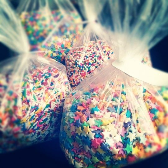 Candy sprinkles wedding confetti
