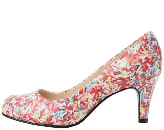 Candy Sprinkles Wedding Shoes