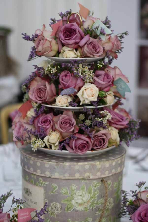 Cake Stand Wedding Centerpieces 15 Ideas
