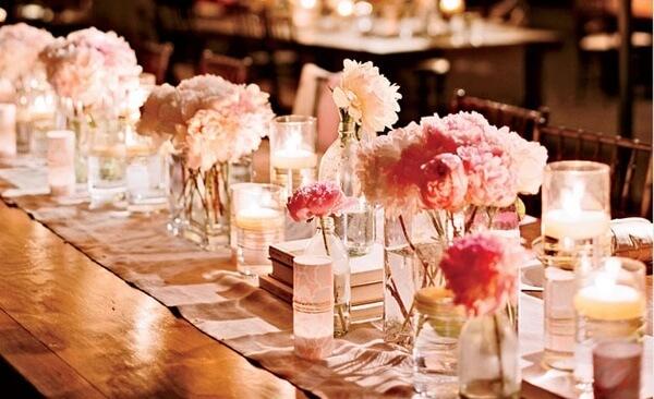 High Quality Wedding Decor For Rectangular Tables