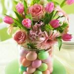 Easy Easter Wedding Centerpiece