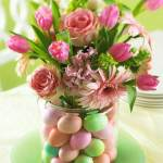 Easy Easter Wedding Centerpiece