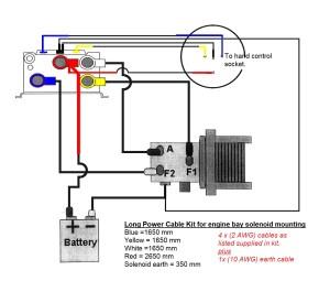 Winch wiring kit