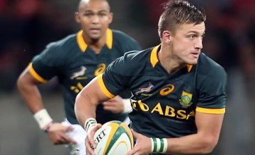 Handre Pollard has been rotated to the replacements with Elton Jantjies starting