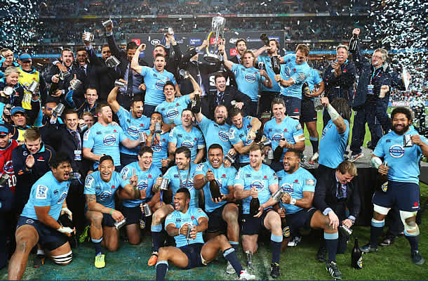 The Waratahs won their first Super Rugby title in 2014