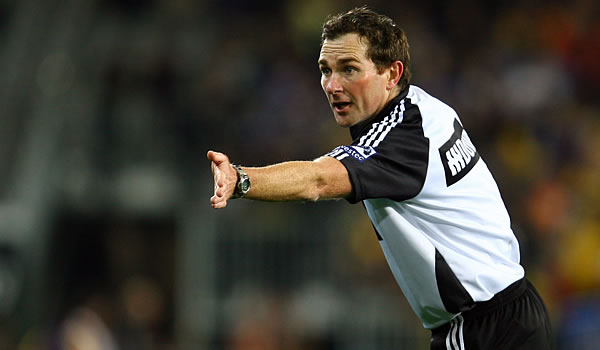 New Zealand Super rugby Referee Glen Jackson