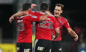 Crusaders back Israel Dagg is now one of the senior players