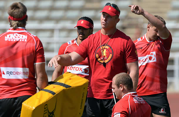 Johan Ackermann has re-signed with the Lions