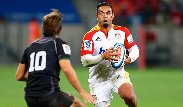 Lelia Masaga on the attack for the Chiefs in 2013