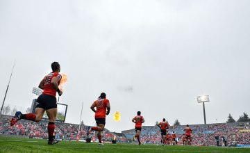 The Sunwolves Run Out for a match