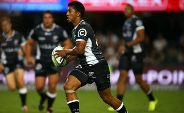 Garth April will start at flyhalf for the Sharks