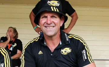 John Plumtree is staying with the Hurricanes for at least two more years
