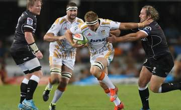 Sam Cane on the burst for the Chiefs