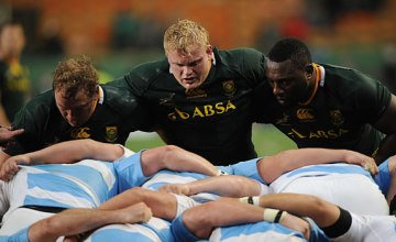 Adriaan Strauss has been named the new Springbok captain