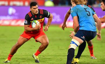Damian de Allende in action for the Stormers against the Bulls