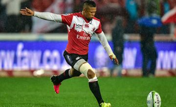 Elton Jantjies could hit 1000 Super rugby points this weekend