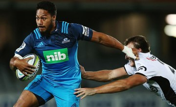 George Moala will be the most experienced Blues back this week
