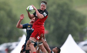Lock Scott Barrett has extended his contract with the Crusaders