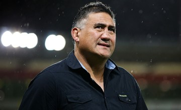 Coach Jamie Joseph of the Highlanders