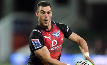 Jesse Kriel on the attack for the Bulls