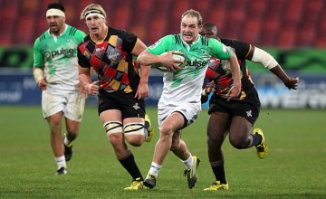 Matt Faddes scored a hat-trick of tries for the Highlanders