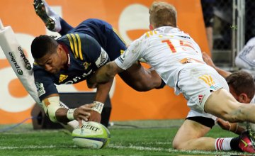 Waisake Naholo will win his 50th Super rugby cap against the Chiefs on Saturday
