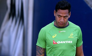 Israel Folau says the pressure is off the Wallabies