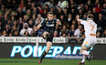 Ben Smith of the Highlanders returns for the Highlanders in super rugby round 4