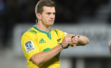 Super rugby Referee Brendon Pickerill