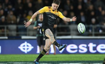 Beauden Barrett of the Hurricanes will win his 100th Super Rugby cap