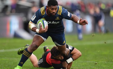 Waisake Naholo of the Highlanders i