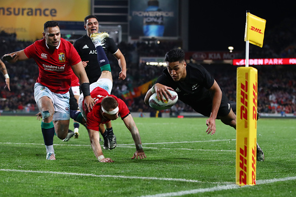 487141e51cc The All Blacks beat the British and Irish Lions 30-15 at Eden Park in  Auckland to make it 38 wins in a row since 1994 for the Kiwis at the  hallowed ground.