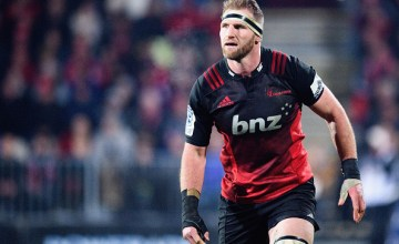 Kieran Read of the Crusaders looks on during the Super Rugby Semi Final match